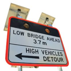 LED enhancement Road Bridge Sign