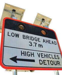 LED enhancement Road Bridge Sign